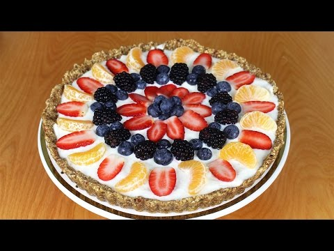 Greek Yogurt Fruit Tart - Dalya Rubin - It's Raining Flour Episode 42