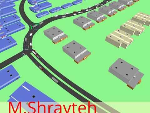 Traffic Simulation for Qatar Ras Laffan Port Expansion Project