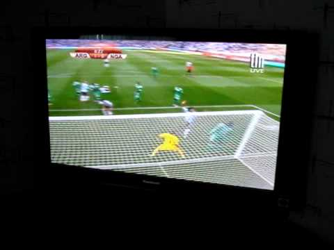 Argentina vs. Nigeria goal celebration