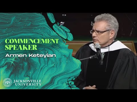 Spring 2014 Jacksonville University Commencement Speaker - Armen Keteyian