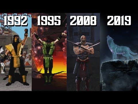 The Evolution Of Mortal Kombat Winning Poses! (1992-2019)