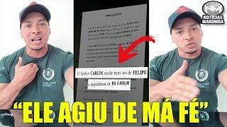 FELIPE FRANCO REVELA POR QUE NÃO PAGOU O ACIDENTE