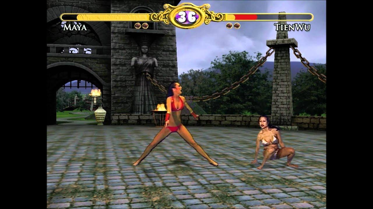 Bikini karate babes juego guardado