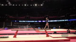 FERLITO Carlotta (ITA) - 2015 Artistic Worlds - Qualifications Balance Beam