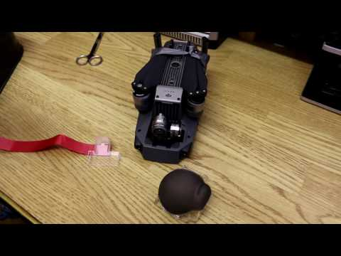 DJI Mavic Pro Gimbal Clamp Remove Reminder