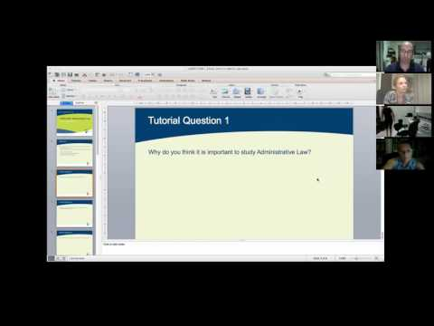 Administrative Law Tutorial: Introduction to Administrative