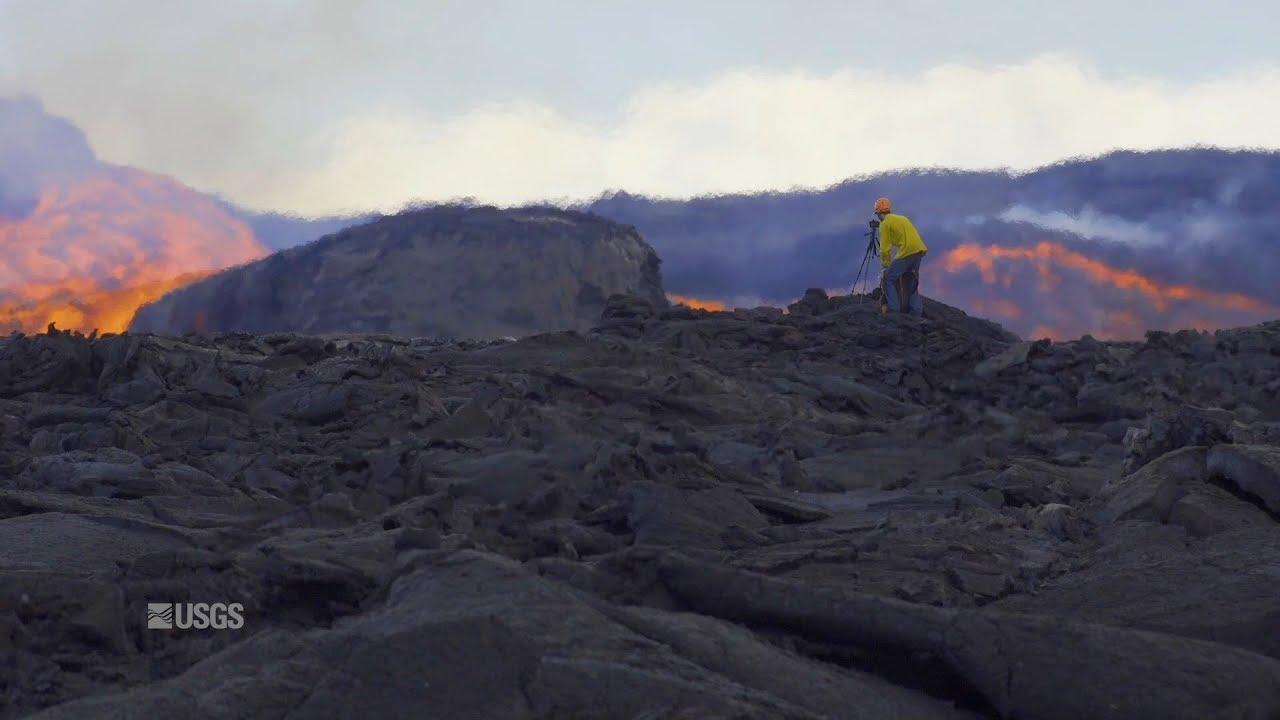Kīlauea Volcano — Lava Scenes From Fissure 8