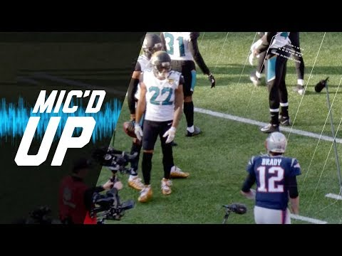 Micd Up Jaguars vs. Patriots Its On Today! (AFC Champ) | NFL Sound FX