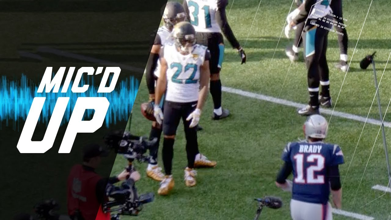 mic-d-up-jaguars-vs-patriots-it-s-on-today-afc-champ-nfl-sound-fx