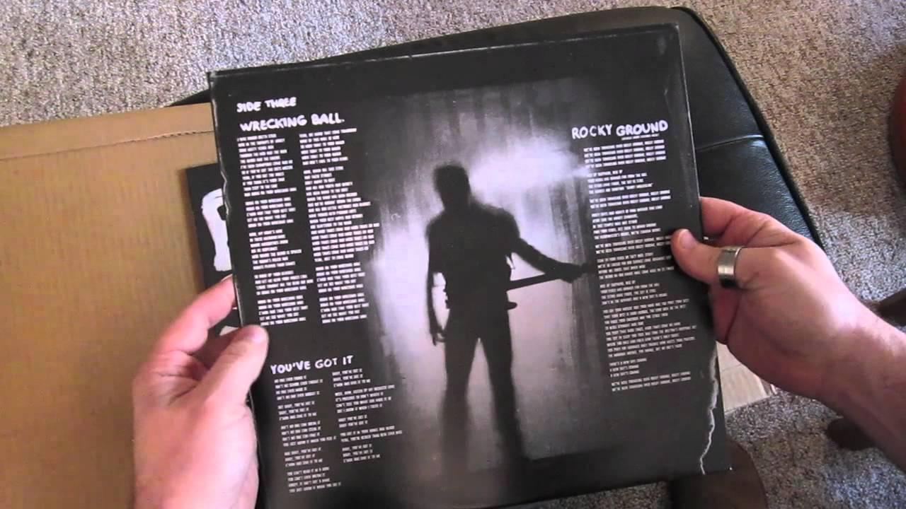 Springsteen S Wrecking Ball Vinyl Unboxing Youtube