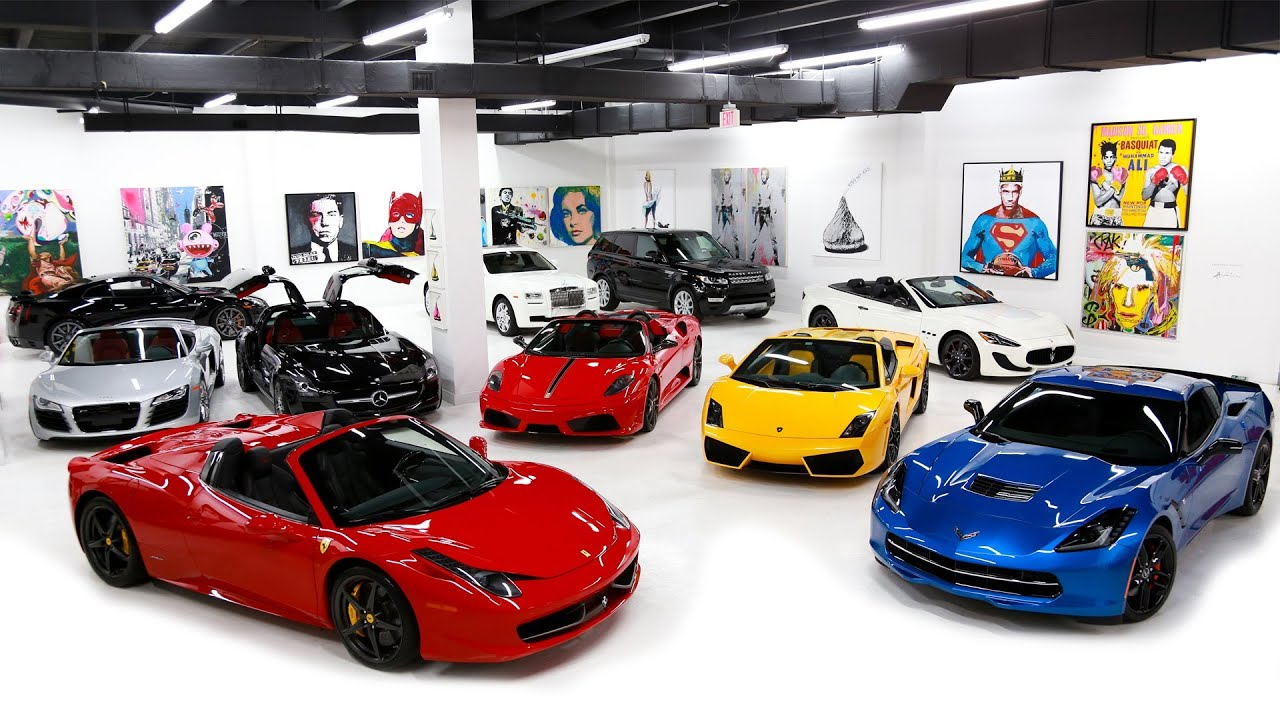 Exotic Car Rental Art Passion The Lou La Vie Downtown Miami - Sports cars to rent