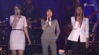 """Love Is In The Air"" performed by Julia Zemiro, Isabella Manfredi & Gossling Dolby"