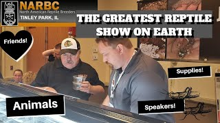 NARBC Tinley Park Reptile Show Fall 2019 | Greatest Reptile Show on Earth!