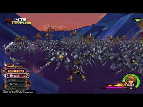 Kingdom Hearts II pretty good way to level up Limit form ...
