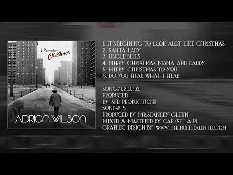 Adrian Wilson - Merry  Christmas to you  (Song#5)