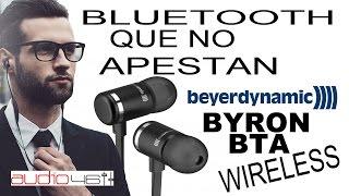 Auriculares Bluetooth in-ear que no apestan. Byron BTA Review