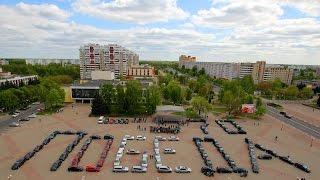 Флешмоб к 70-летию Победы в Солигорске