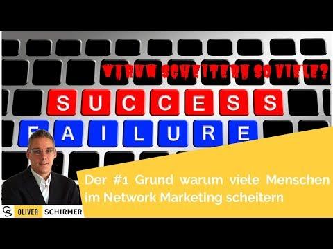 Der #1 Grund warum viele Menschen im Network Marketing scheitern
