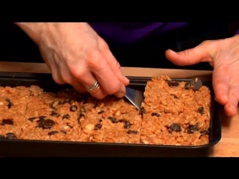 Low-Fat & Healthy Cereal Bar Recipe : iCookNaked: Healthy Snacks