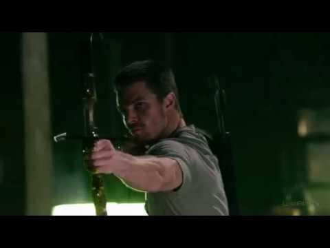 Начало супергеройства Оливера (фрагмент из сериала зеленая стрела 1сезон 1 серия)