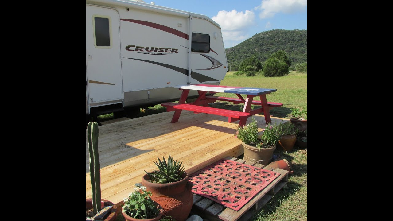 Building A RV Deck