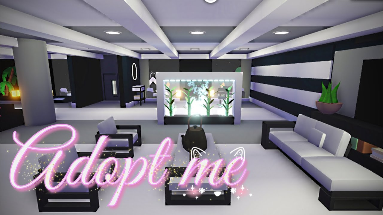 Adopt Me House Tour Modern House Glitch Build Ideas With Poetic Demon Youtube