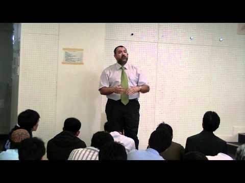 Khutbah Jum'ah in Tokyo Tech Muslim Society
