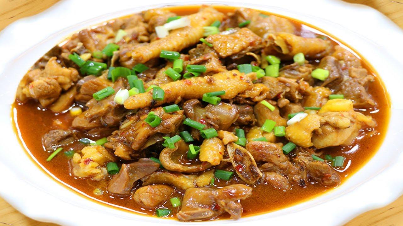 川菜師傅把田螺和雞肉一起做,吃一口唇齒留香、韻味十足! 【最美家常菜】