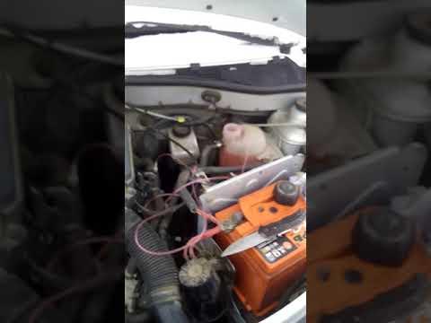 Убираем воздушную пробку системы охлаждения Рено Логан