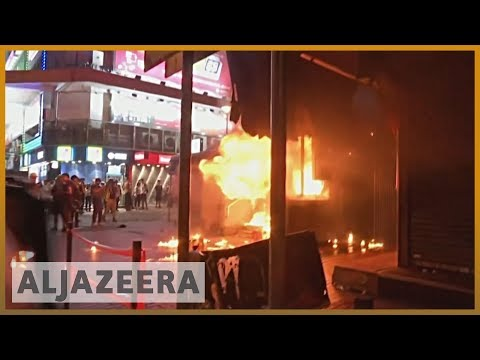 Hong Kong divided over unrest amid mass protests