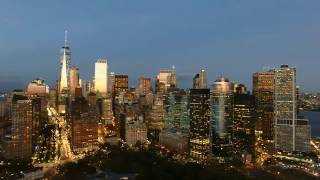 Floating Above NYC ~ Manhattan & Central Park Drone Aerials by Dahboo7