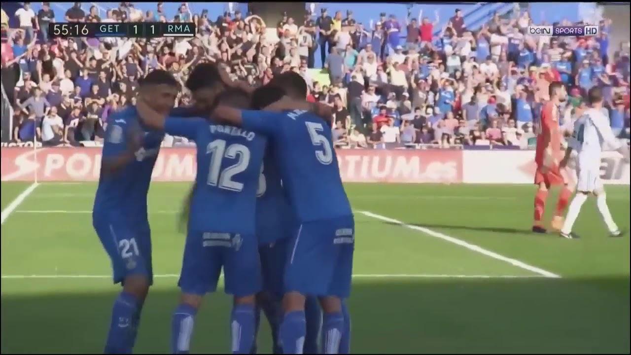 Download Real Madrid vs Getafe 2-1 All Goals & Extended Highlights 14/10/2017