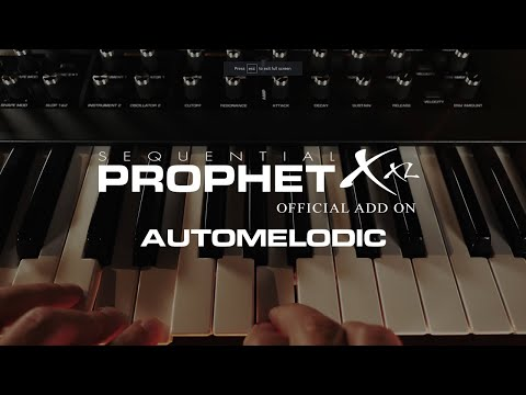 "DSI / 8Dio Sequential Prophet X Program: ""Automelodic"""