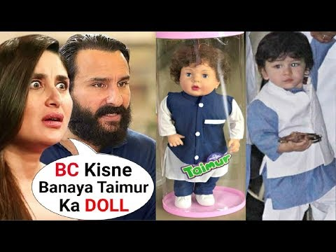 Kareena Kapoor Khan ANGRY Reaction On Son Taimur Ali Khan Dolls