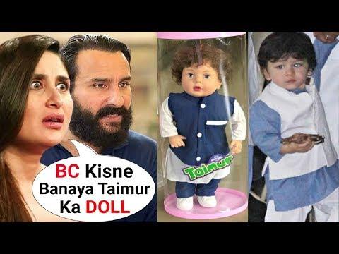 Kareena Kapoor Khan ANGRY Reaction On Son Taimur Ali Khan Dolls
