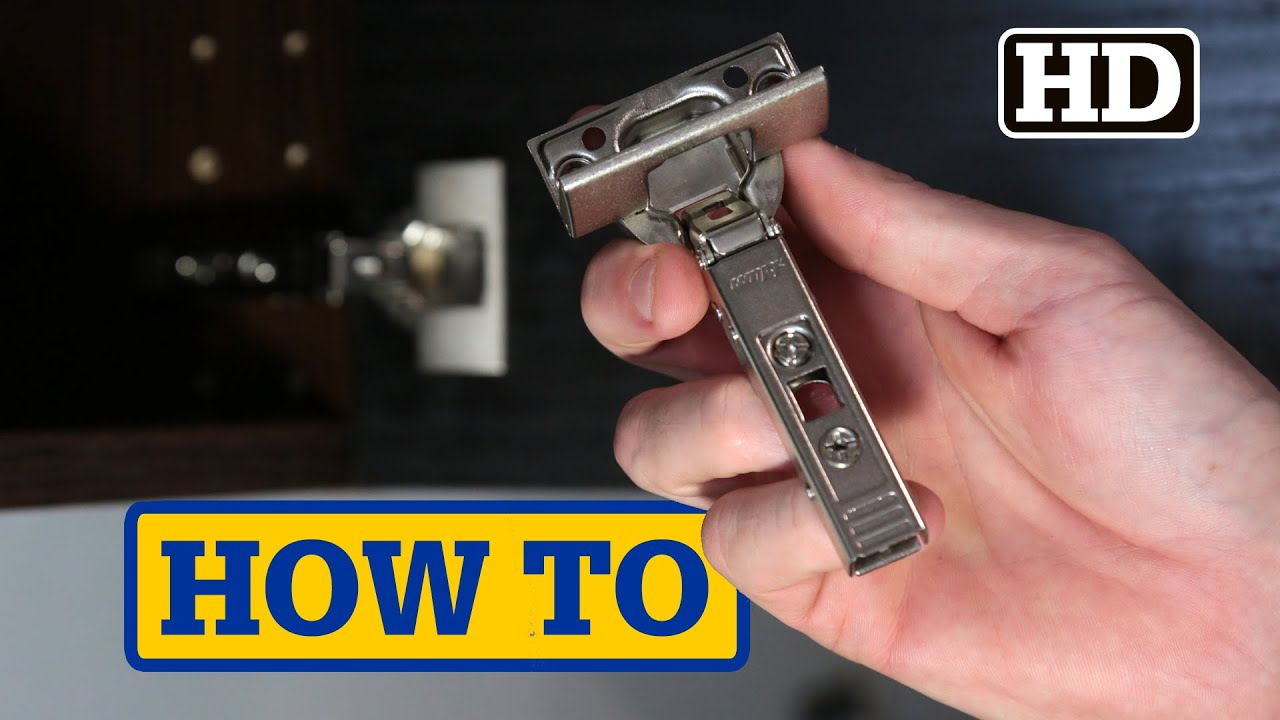 Ikea Kitchen Island Tutorial ~ IKEA Hinge & Door Damper Install  UTRUSTA  YouTube