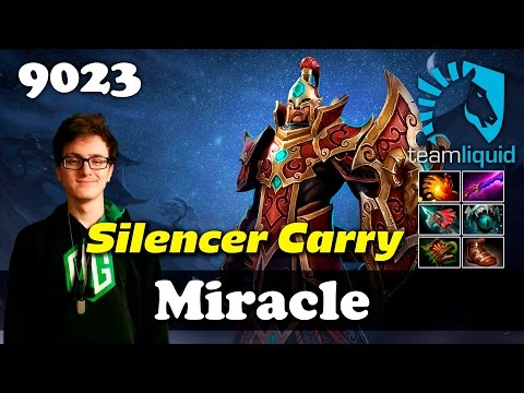 Miracle Silencer Carry | 9023 MMR Dota 2