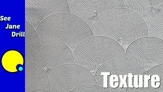 How to Do a Fan Pattern Texture