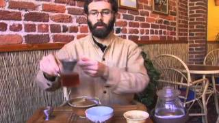 Dobra Tea : Pu-er Tea Brewing Demonstration