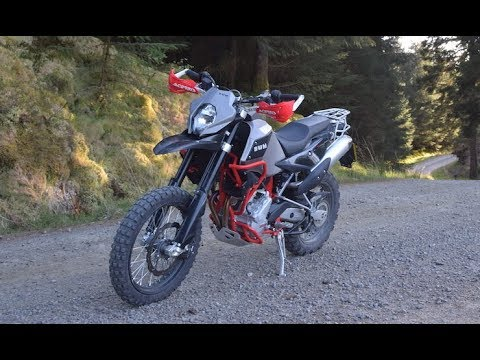 Motorcycle 2017 SWM Superdual T REVIEW, test ride!