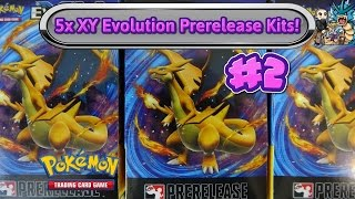 opening 5 more xy evolutions prerelease kits pokemon tcg unboxing