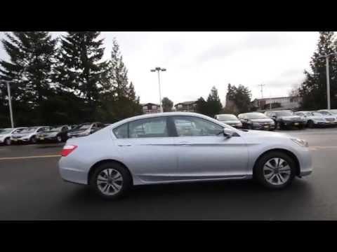 2015 Honda Accord LX | Alabaster Silver | FA106236 | Seattle | Renton