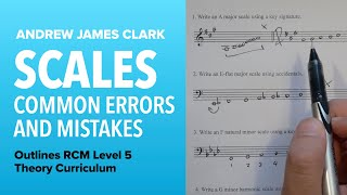 Scales: Music Theory RCM Level 5 (4/4)