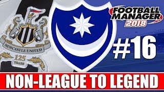Non-League to Legend FM18 | PORTSMOUTH | Part 16 | JOB INTERVIEW | Football Manager 2018