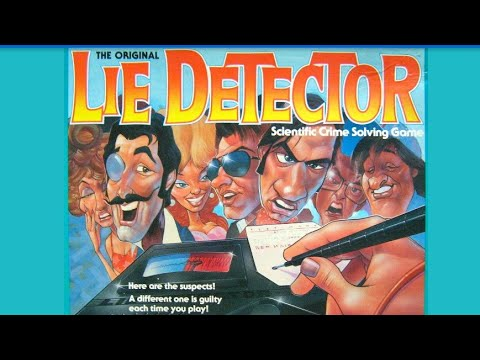 Ep 168 Lie Detector Board Game Review Mattel 1987 Ed Youtube