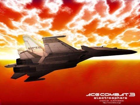 Прохождение Ace Combat 3:Electrosphere JPN (PS1) Часть 1-я