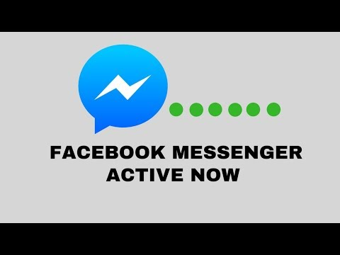 Facebook Messenger Tutorial : Facebook Messenger Active Now Hide/Unhide
