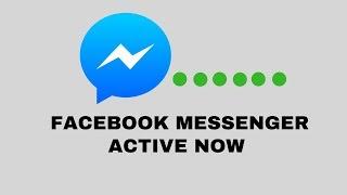 Facebook Messenger Tutorial : Facebook Messenger Active Now Hide/Unhide