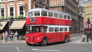 London Routemaster Buses @ Great Scotland Yard, London (GB) 30-07-2013