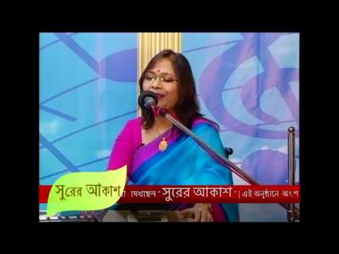 """Ami Bonophul Go"" -------Sukanya's Live performance ---- ...."